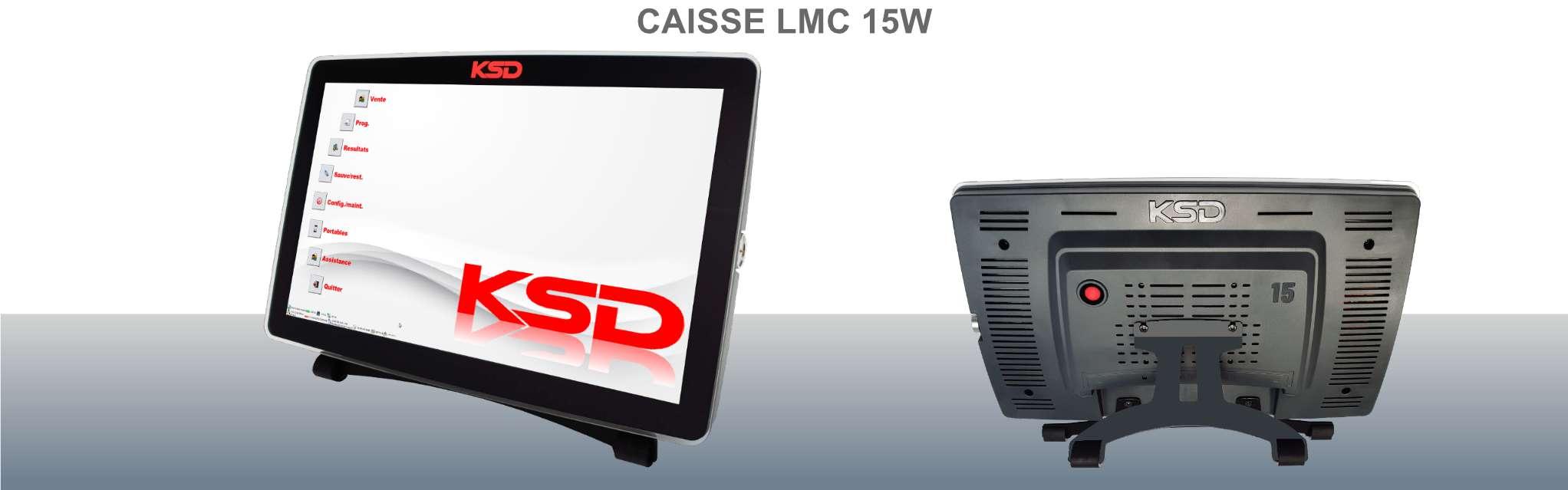 Caisse enregistreuse LMC 15W