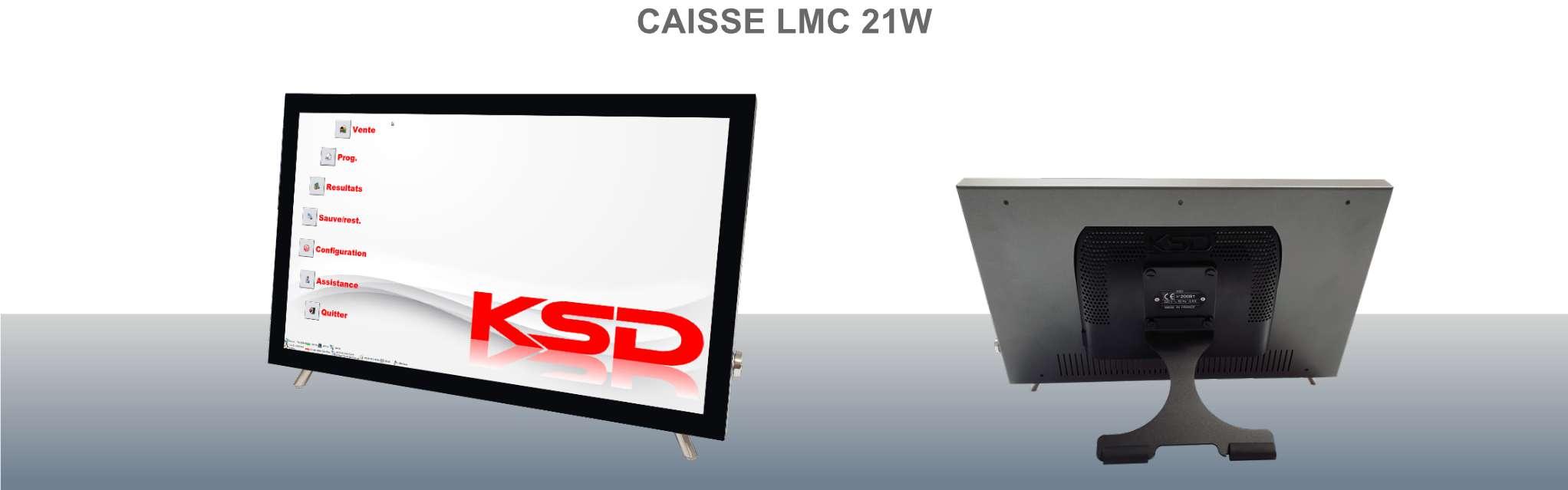 Caisse enregistreuse LMC 21W